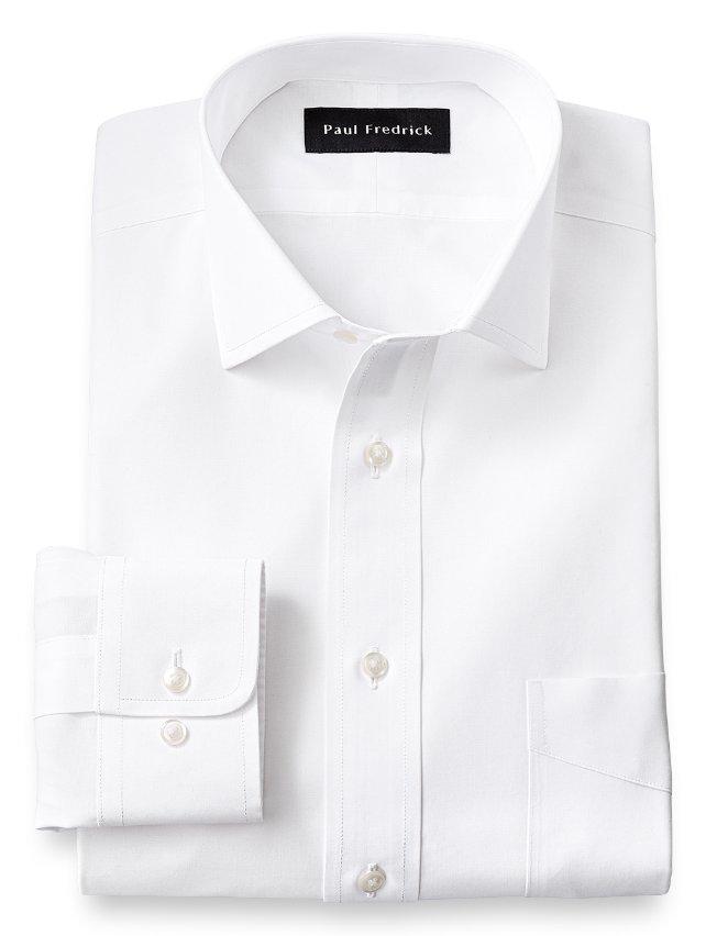 Non-Iron Supima Cotton Spread Collar Dress Shirt