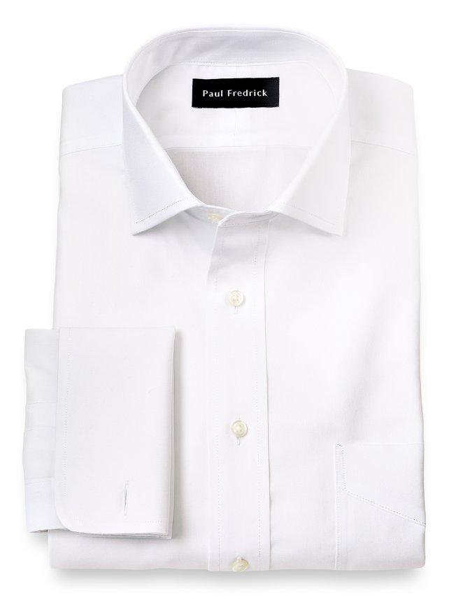 Non-Iron Impeccable Cotton Spread Collar Dress Shirt