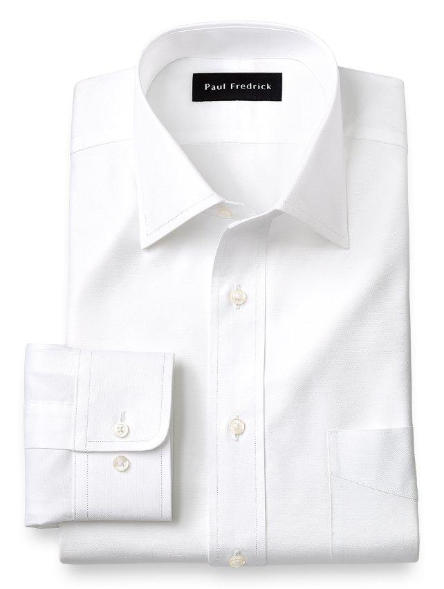 Egyptian Cotton Windsor Spread Collar Dress Shirt