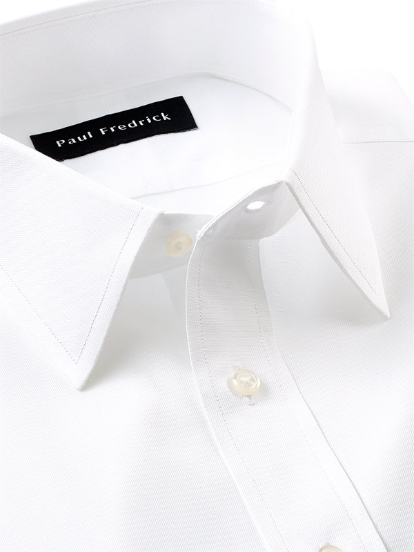 Superfine Egyptian Cotton Solid Color Straight Collar Dress Shirt