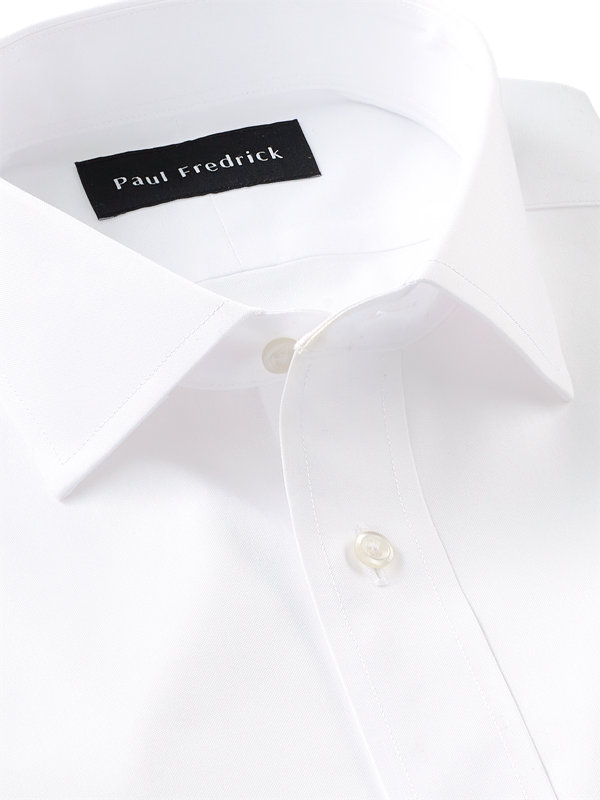 Slim Fit Impeccable Non-Iron Cotton Pinpoint Spread Collar Dress Shirt