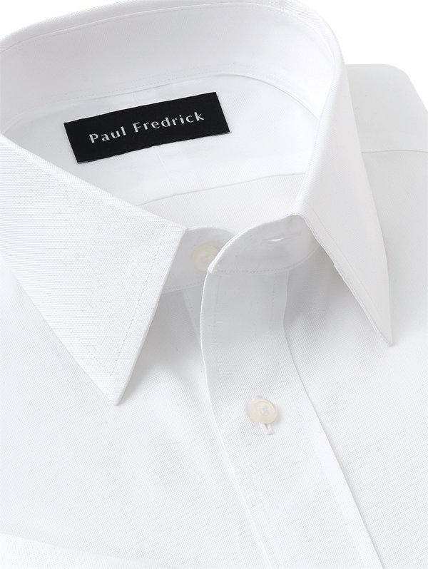 Slim Fit Superfine Egyptian Cotton Straight Collar French Cuff Dress Shirt