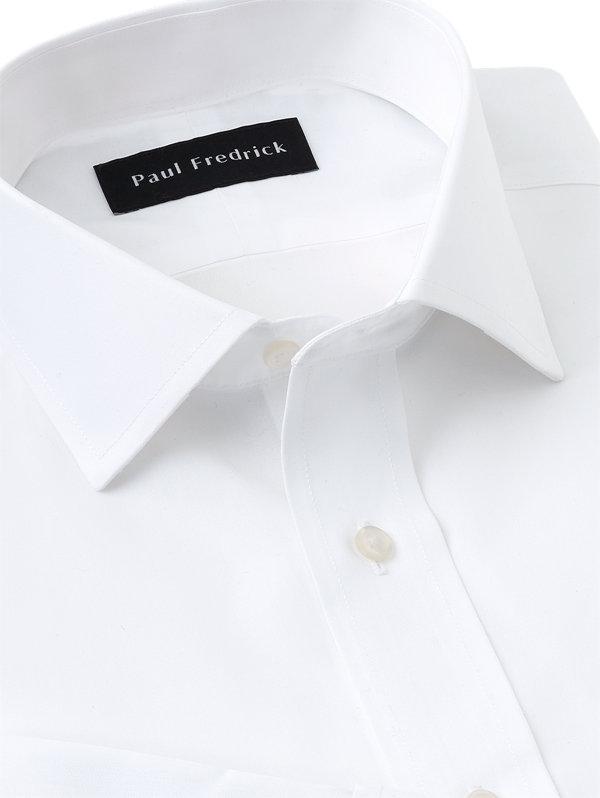Slim Fit Supima Non-Iron Cotton Spread Collar French Cuff Dress Shirt