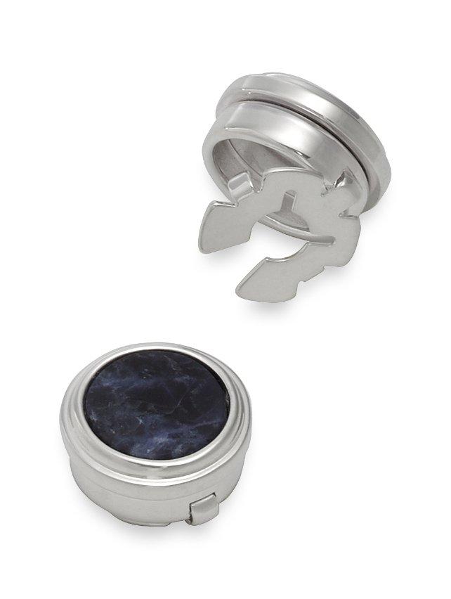 Sodalite Circle Button Cover