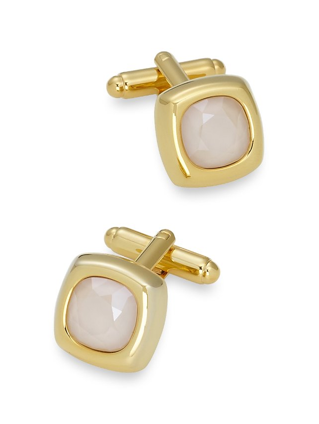 Swarovski Crystal Cushion Cut Cufflinks