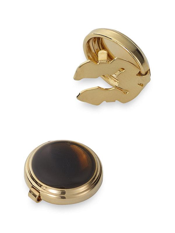 Enamel Circle Button Cover
