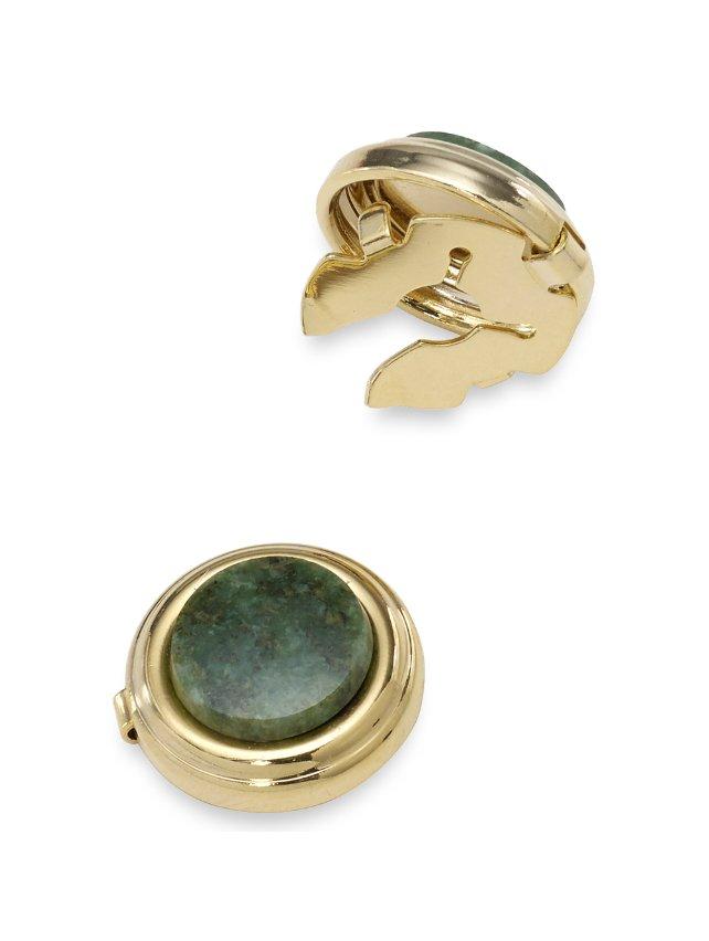 Jade Circle Button Cover