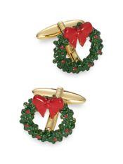 Enamel Wreath Cufflinks