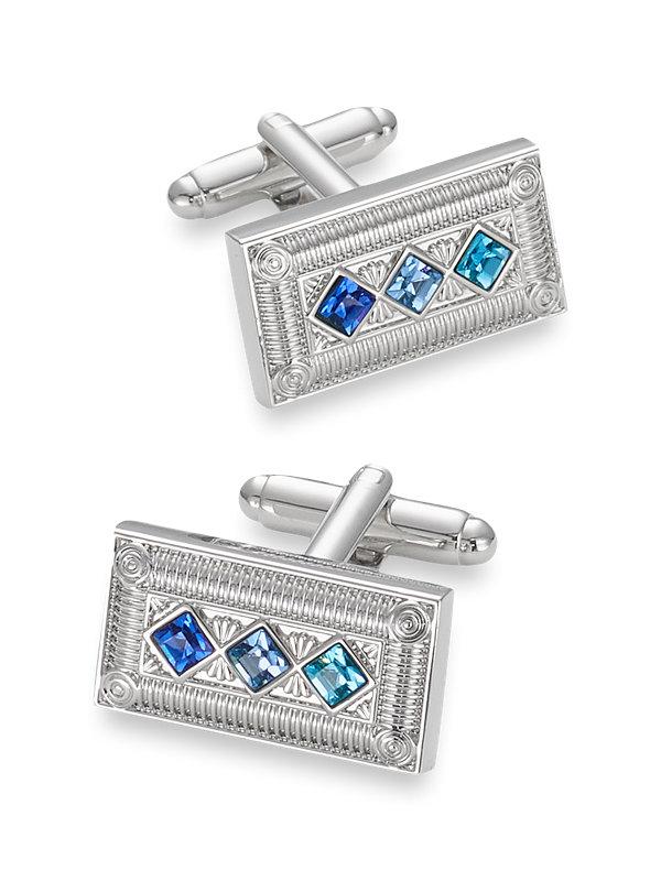 Swarovski Diamond Crystal Cufflink