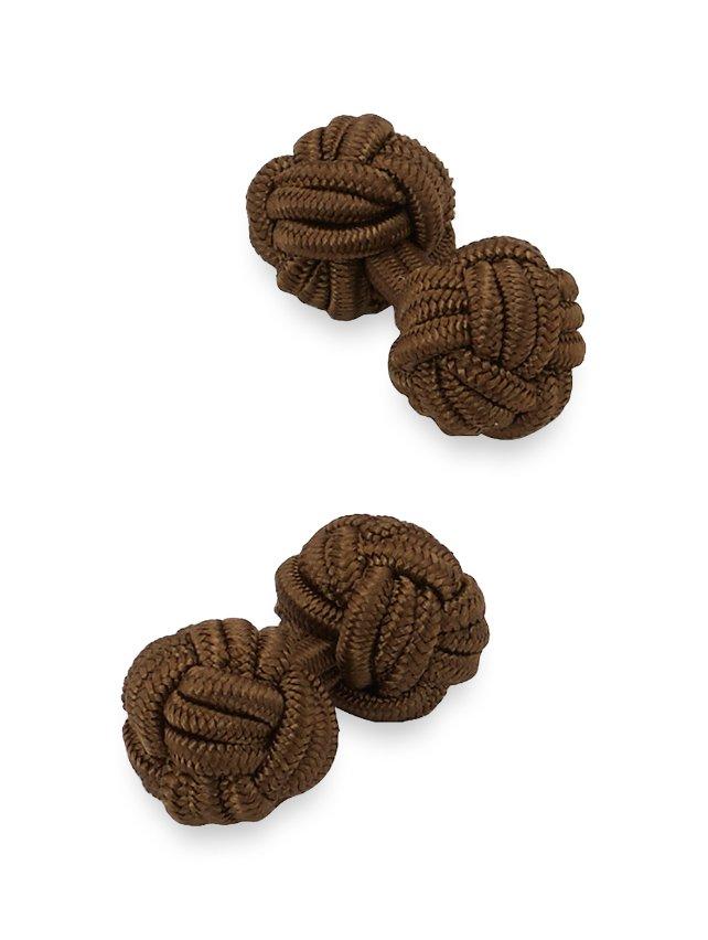 Fabric Knot Cufflinks