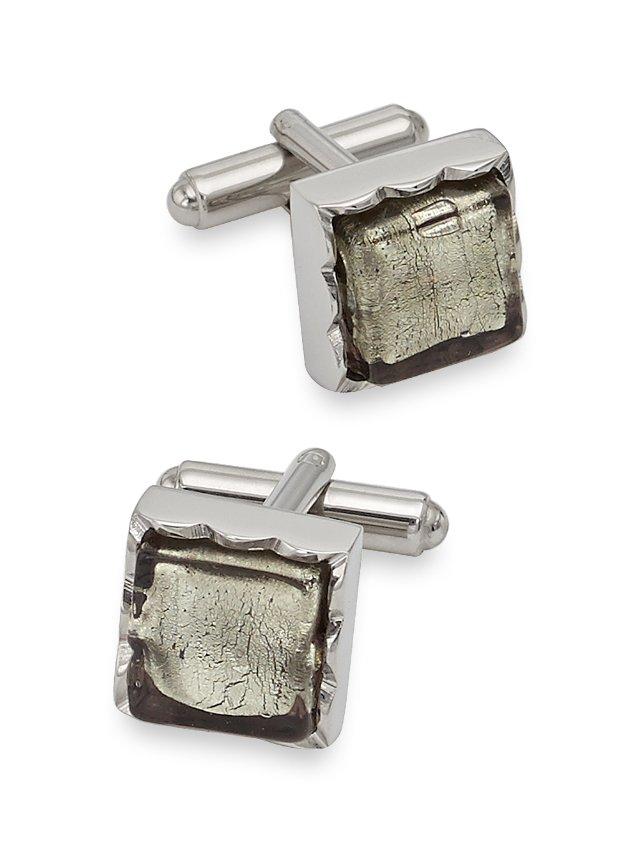 Murano Glass Square Cufflinks