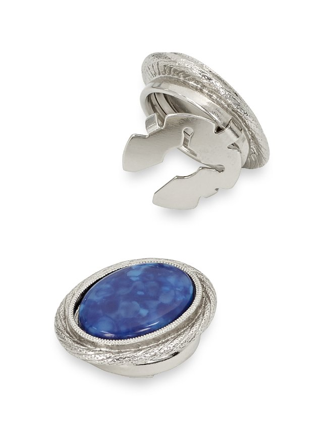 Sodalite Oval Button Covers