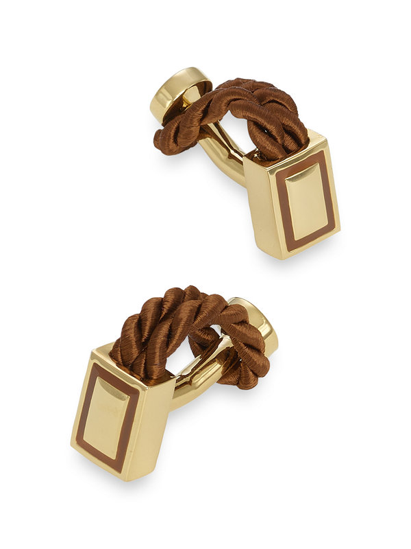 Twisted Rope Cufflinks