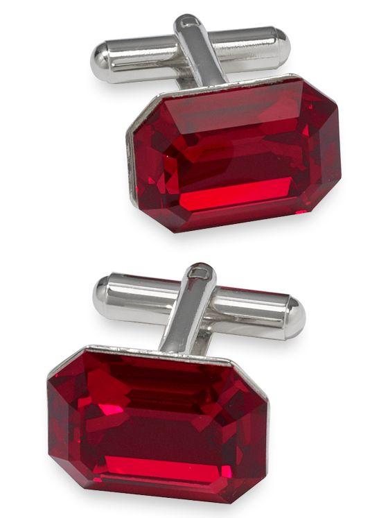 Swarovski Crystal Stone Cufflinks