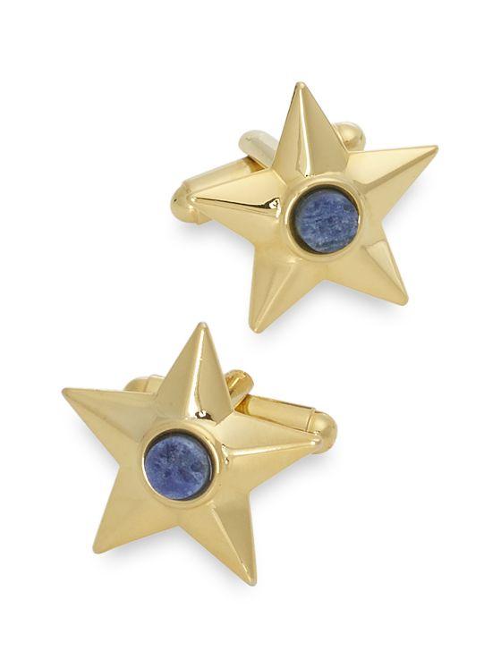 Sodalite Star Cufflinks