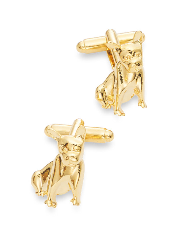 Boston Terrier Cufflink