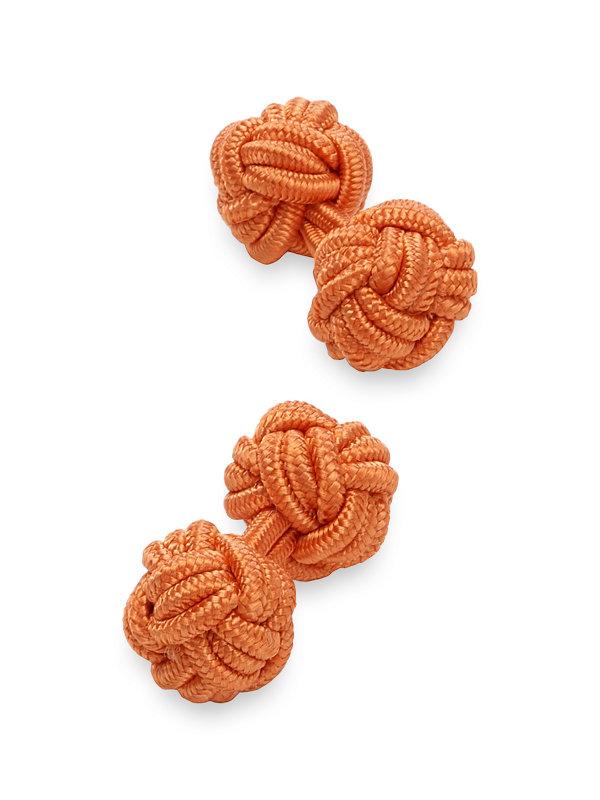 Fabric Knot Cufflink