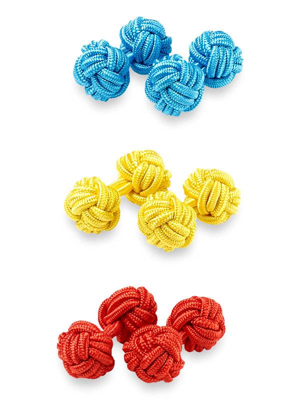 Knot Cufflink Set