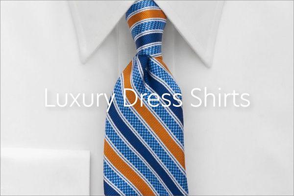 Luxury Dress Shirts