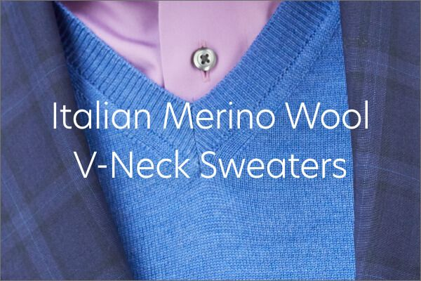 Merino V-Neck Sweaters