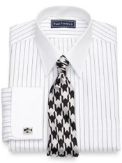 Cotton Fine Stripe Dress Shirt