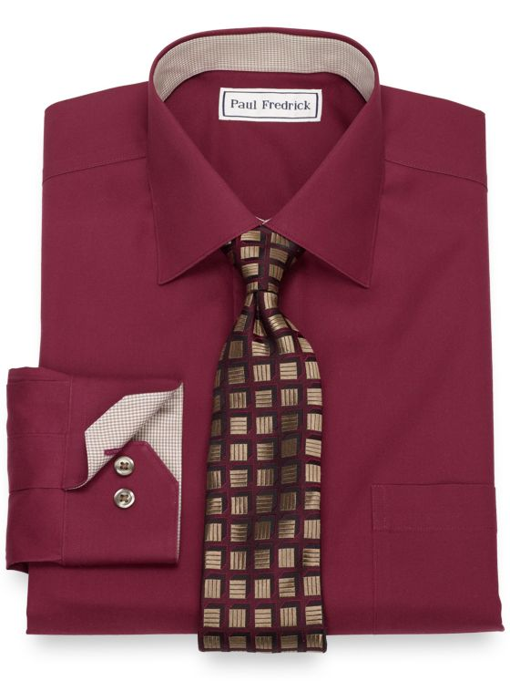 Non-Iron Cotton Dress Shirt