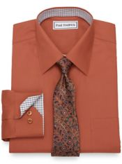 Slim Fit Non-Iron Cotton Dress Shirt