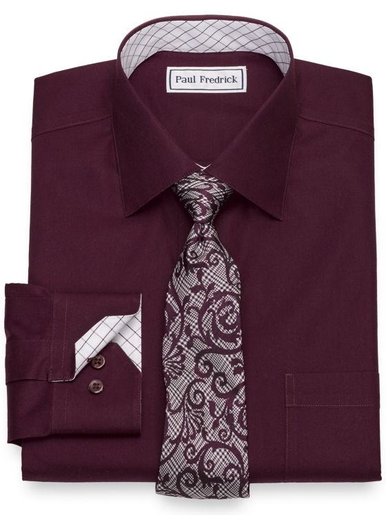 Non-Iron Cotton Dress Shirt