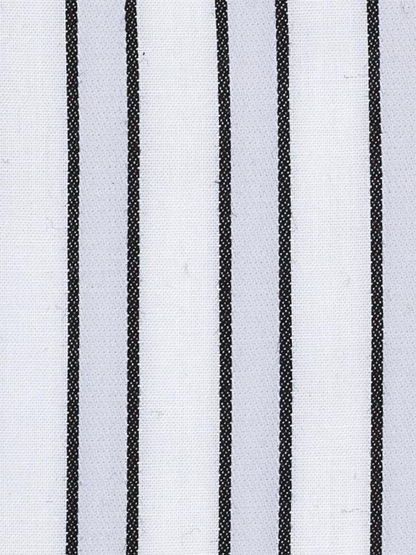 Slim Fit Pure Cotton Shadow Stripe French Cuff Dress Shirt