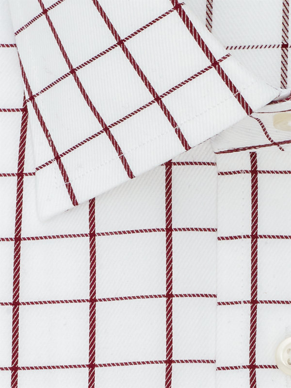 Superfine Egyptian Cotton Check Dress Shirt