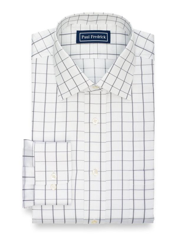 Superfine Egyptian Cotton Check Dress Shirt