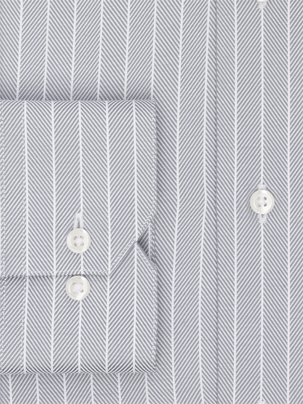 Superfine Egyptian Cotton Herringbone Dress Shirt