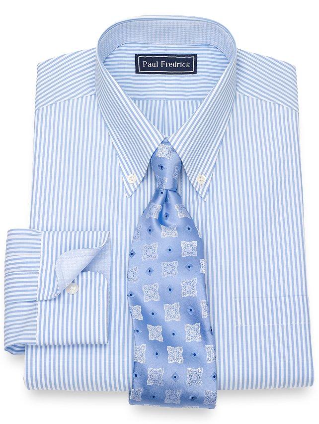 Slim Fit Bengal Stripe Dress Shirt