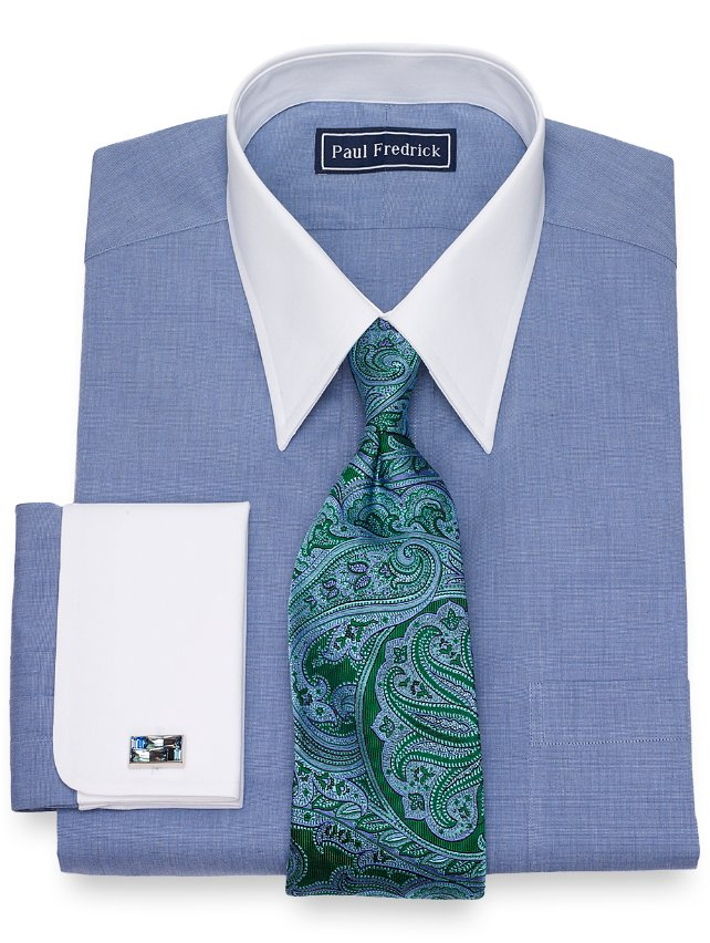 Cotton Solid Dress Shirt