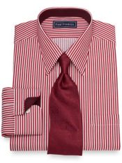 Slim Fit Bengal Stripe Dress Shirt