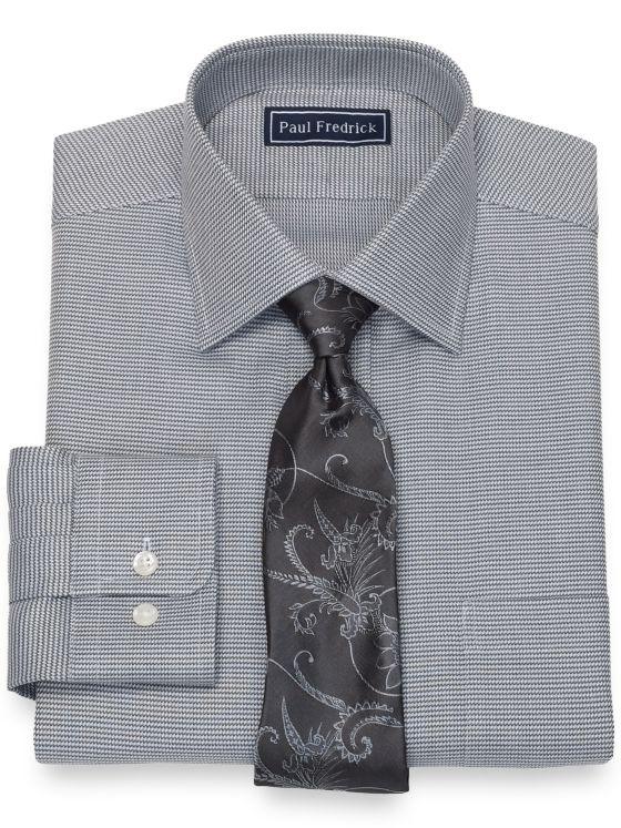 Pure Cotton Broadcloth Twill Dress Shirt