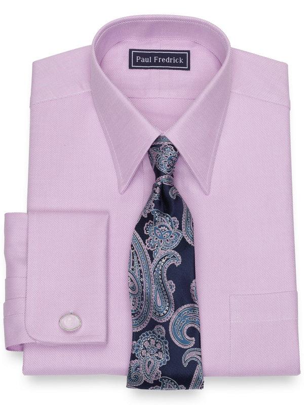Pure Cotton Broadcloth Twill Dress Shirt