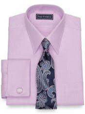 Slim Fit Pure Cotton Broadcloth Twill Dress Shirt