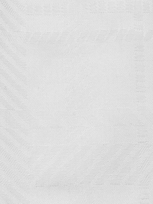 Pure Cotton Plaid Button Cuff Dress Shirt