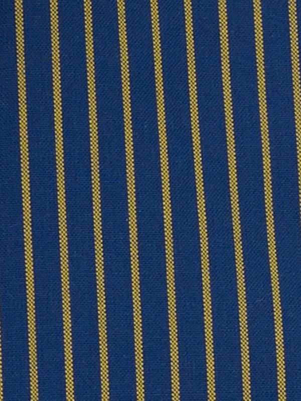 Slim Fit Non-Iron Cotton Broadcloth Glen Plaid Dress Shirt with Contrast Trim