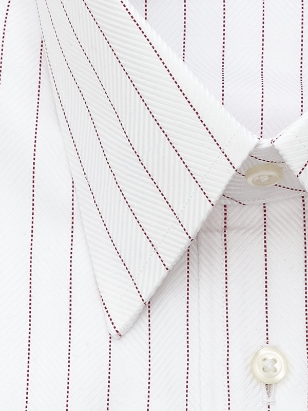 Egyptian Cotton Stripe French Cuff Dress Shirt