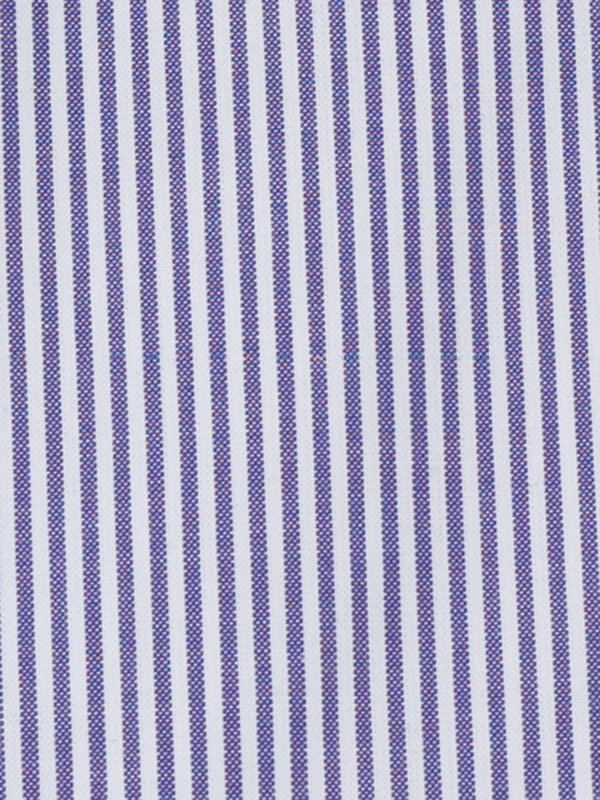 Pure Cotton Bengal Stripe Button Cuff Dress Shirt