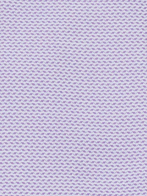 Slim Fit Pure Cotton Textured Pattern French Cuff Dress Shirt