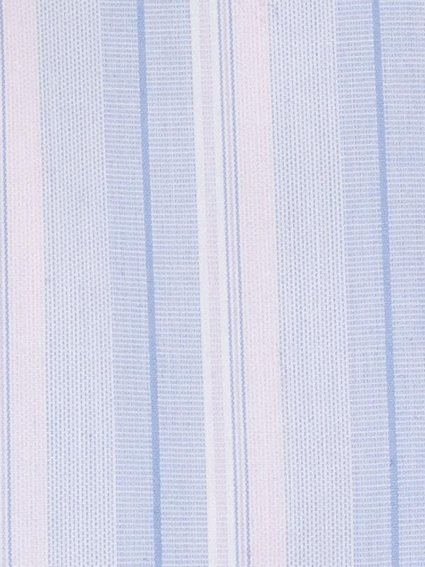 Non-Iron Cotton Broadcloth Stripe Dress Shirt