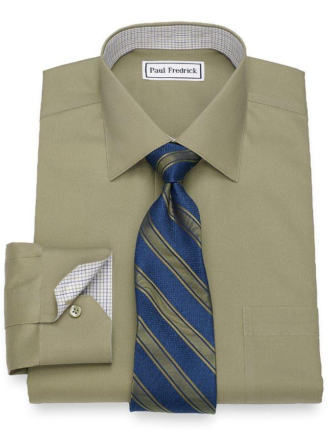 Non-Iron Pinpoint Oxford Dress Shirt