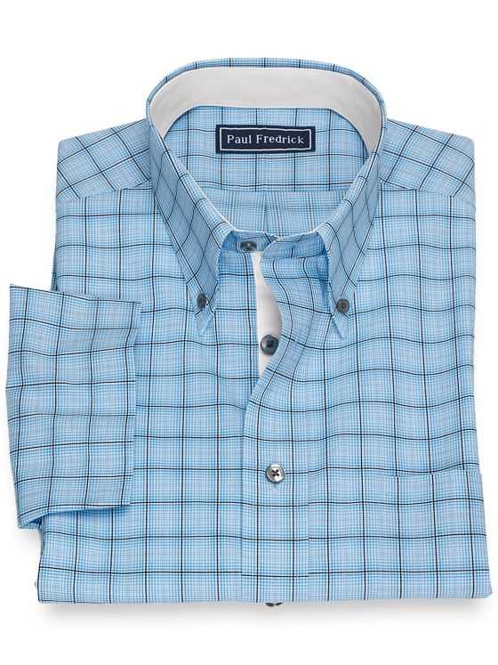 Cotton Tattersall Short Sleeve