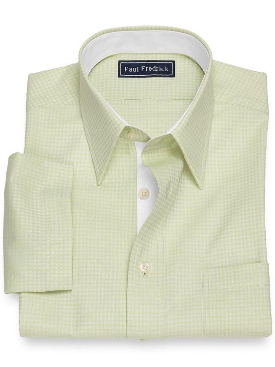 Cotton Twill Box Short Sleeve