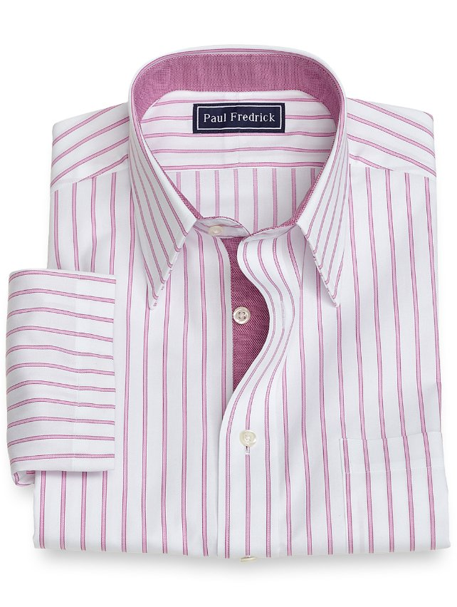 Cotton Stripe Short Sleeve