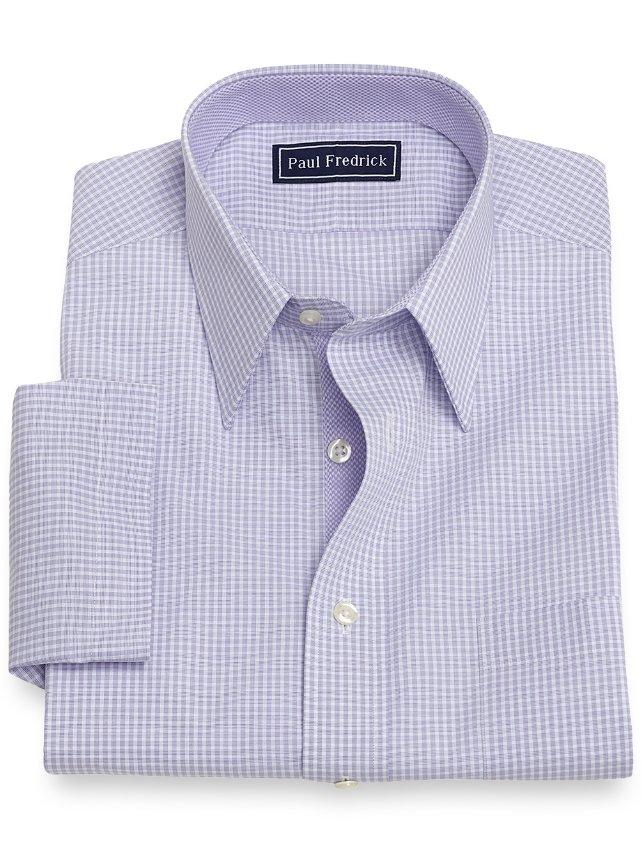 Cotton Check Short Sleeve