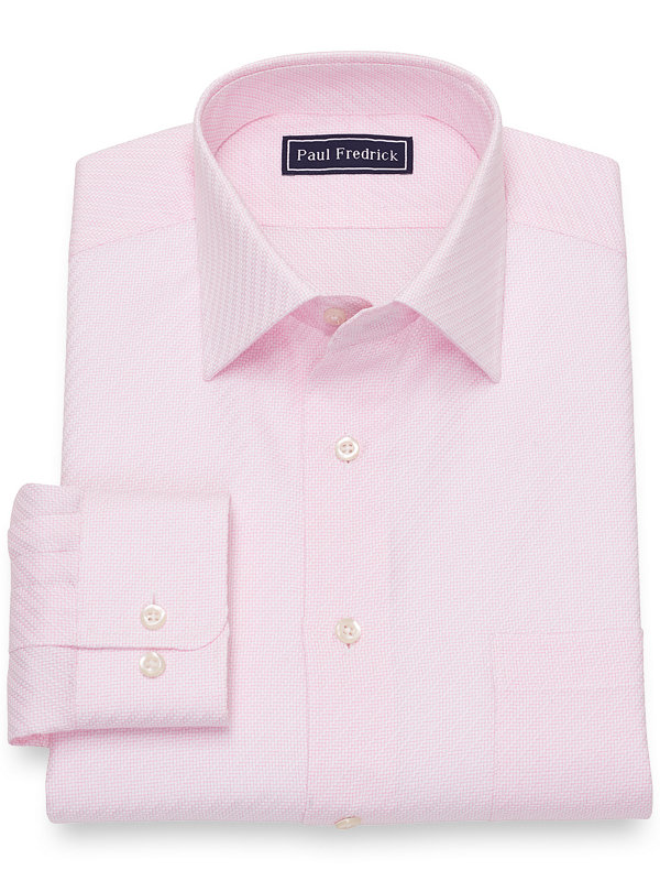 Pure Cotton Broadcloth Solid Twill Color Dress Shirt